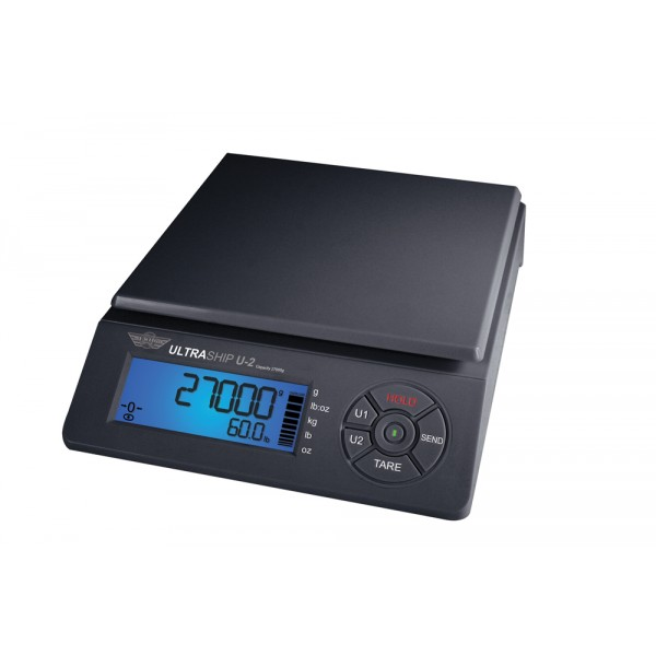 MyWeigh ULTRASHIP U2 do 27kg / 2g/5g